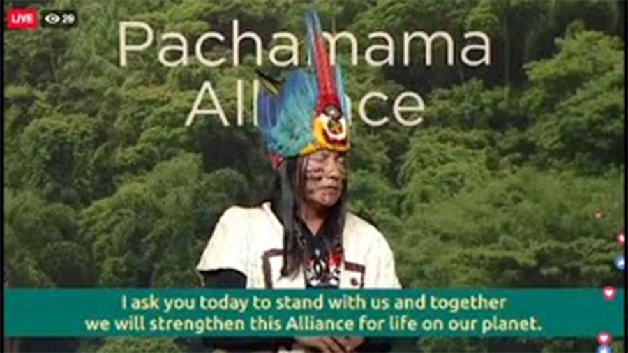 パチャママアライアンスのファンドレイジングイベントで紹介されました!